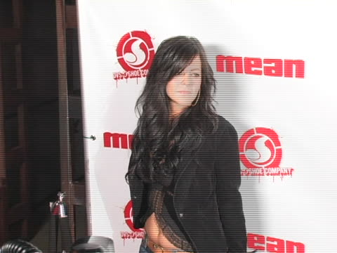 allison melnick at the sin city moves to la for mean magazine launch party at nacional in hollywood ca - 刊行物点の映像素材/bロール