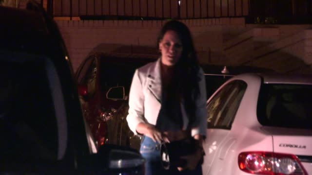 allison melnick date enjoy a night out at chateau marmont in west hollywood at celebrity sightings in los angeles allison melnick date enjoy a night... - avvistamenti vip video stock e b–roll