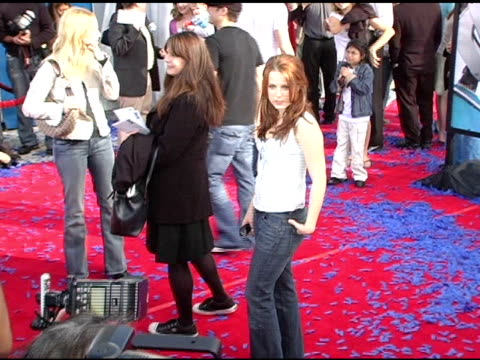 allison munn at the 'robots' world premiere at the mann village theatre in westwood california on march 6 2005 - regency village theater stock videos & royalty-free footage