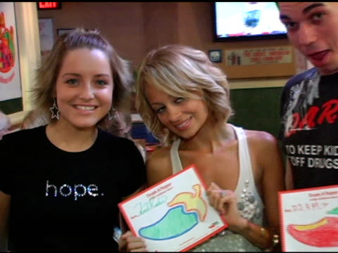 Allison Nicole Richie and DJ AM at the Chili's Create A Pepper to Benefit St Jude Children's Research Hospital at Chili's Restaurant in Westwood...