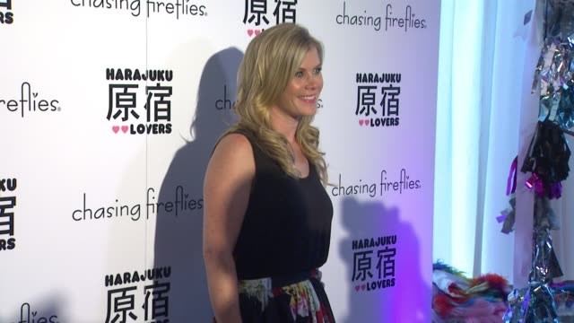 Allison Sweeney at the Chasing Fireflies And Gwen Stefani Present Harajuku Lovers Fall 2015 Collection at Duff's Cakemix on September 24 2015 in West...