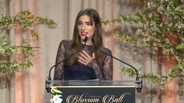 allison williams at 8th annual blossom ball to benefit the endometriosis foundation of america at pier sixty at chelsea piers on april 19, 2016 in... - chelsea piers stock videos & royalty-free footage