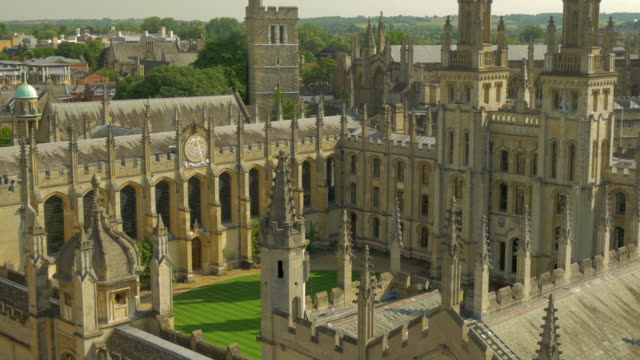 allsouls college,oxford,ha, - oxford england stock videos & royalty-free footage