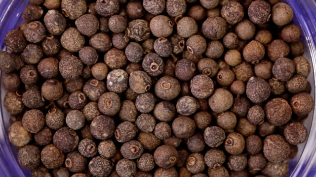 allspice texture background - pepper pot stock videos & royalty-free footage