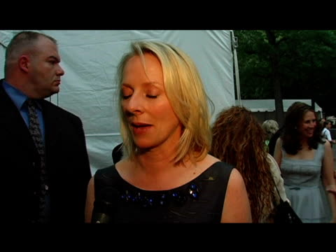 allure magazine's linda wells on the fresh air fund her favorite outdoor activity and a fishing trip she's taking later this summer at the fresh air... - tavern on the green stock videos & royalty-free footage