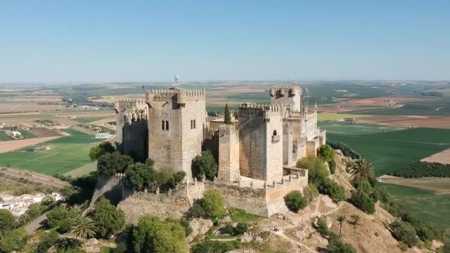 Almodóvar Castle Drone Video