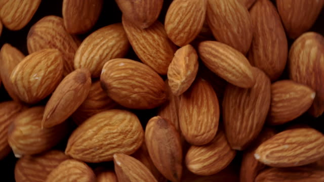 almonds in the air - almond stock videos & royalty-free footage