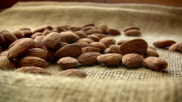 almonds - almond stock videos and b-roll footage