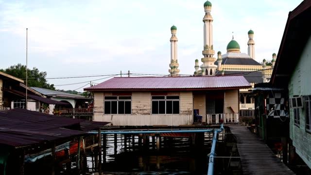 al-muhtadee mosque in brunei darussalam - brunei stock videos & royalty-free footage