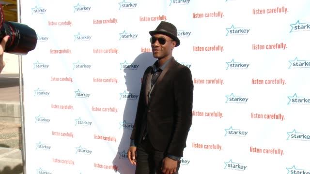 aloe blacc at starkey hearing foundation's listen carefully concert with aloe blacc in los angeles ca - irvine california stock videos & royalty-free footage