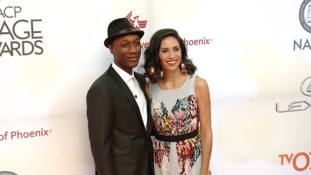 stockvideo's en b-roll-footage met aloe blacc at the 46th annual naacp image awards arrivals at pasadena civic auditorium on february 06 2015 in pasadena california - pasadena civic auditorium