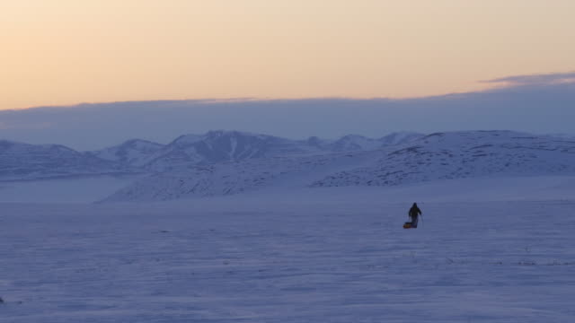 Alone in the Arctic Wilderness