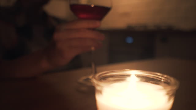 alone with my thoughts. - candle stock videos & royalty-free footage
