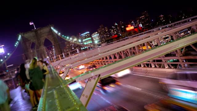 along Brooklyn Bridge