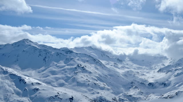 hd alpes time lapse - ken burns stock videos and b-roll footage