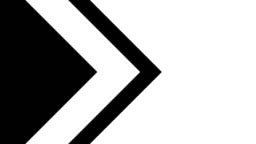 alpha matte transition of arrow