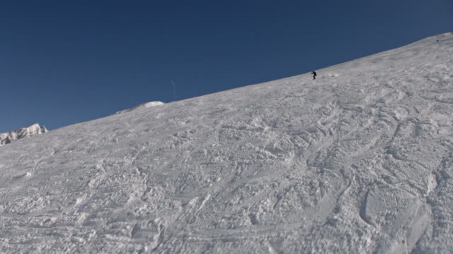 vidéos et rushes de piste de ski alpin - en individuel