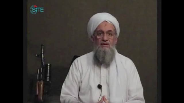 al-qaeda named ayman al-zawahiri as its new chief to succeed the slain osama bin laden and vowed there will be no let up in its jihad' against the... - ayman al zawahiri stock videos & royalty-free footage