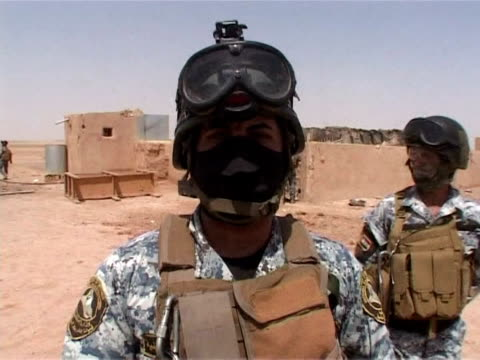 alqaeda's top two commanders in iraq were purportedly killed over the weekend in a joint usiraqi military raid north of baghdad dealing osama bin... - al qaida stock videos & royalty-free footage