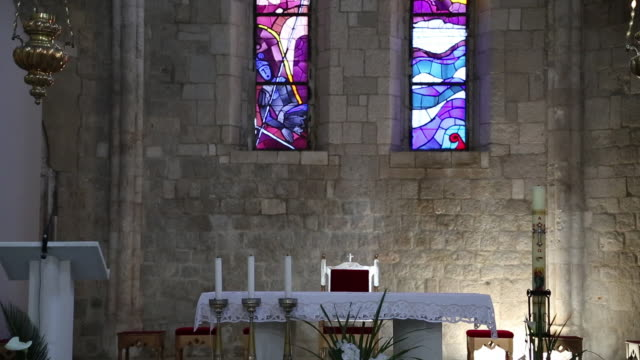 Altar and mosaics in the Dominican monastery, Dubrovnik