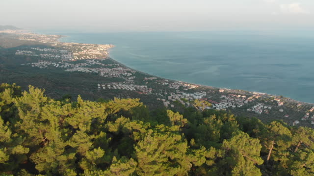 altar of zeus, edremit bay and aegean sea, canakkale, turkey - zeus stock videos and b-roll footage