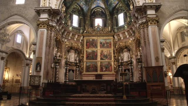 vidéos et rushes de altar santa maria de valencia - église