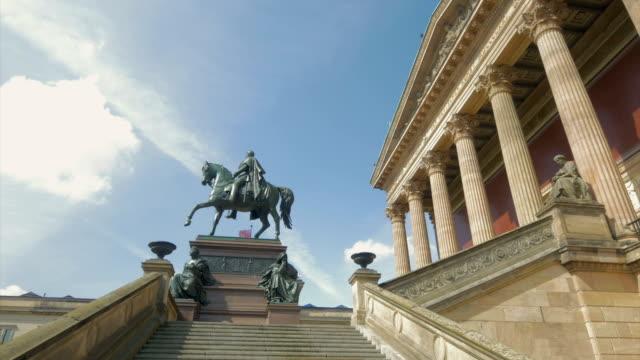 alte national gallery,pan,ws - animal representation stock videos & royalty-free footage