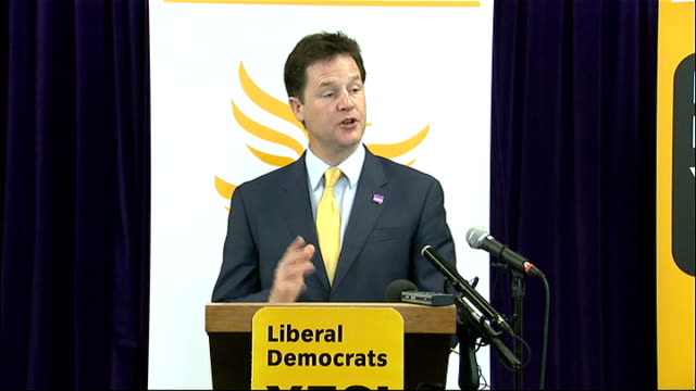 nick clegg speech for 'yes' campaign nick clegg speech sot under first past the post there are huge numbers of mps with jobs for life in places where... - after life stock videos & royalty-free footage
