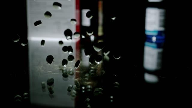slo mo alternative vs traditional medicine - contraceptive stock videos and b-roll footage