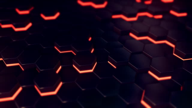 altıgenler loop - hexagon stock videos and b-roll footage