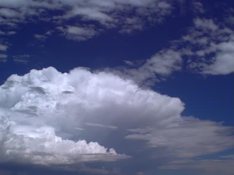 altocumulus and cumulus clouds - altocumulus stock videos and b-roll footage