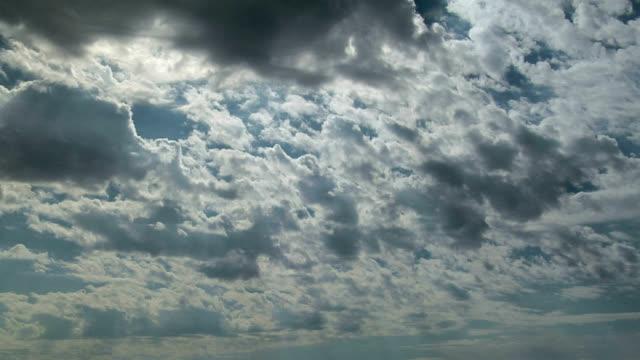 altocumulus castellanus clouds, timelapse - altocumulus stock videos and b-roll footage