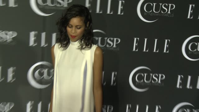 stockvideo's en b-roll-footage met aluna francis at 5th annual elle women in music celebration presented by cusp by neiman marcus at avalon on april 22, 2014 in hollywood, california. - neiman marcus