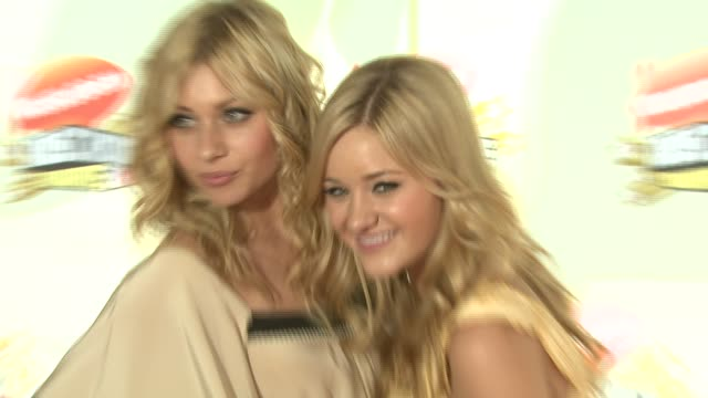 Aly Michalka and AJ Michalka of Aly and AJ at the 2007 Nickelodeon's Kids' Choice Awards at UCLA's Pauley Pavilion in Los Angeles California on March...