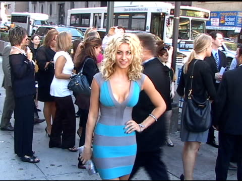 Aly Michalka at Madison Square Garden at the Celebrity Sightings in New York at New York NY
