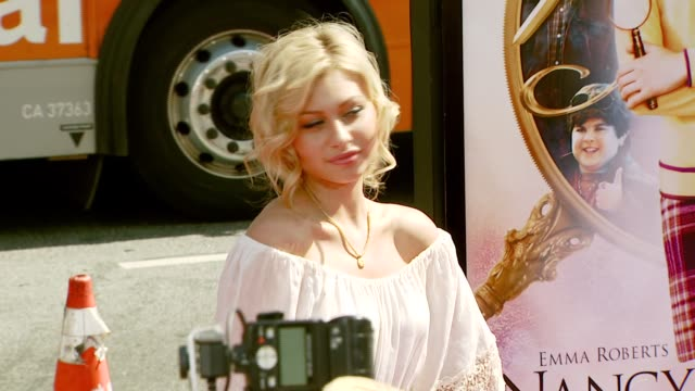 Aly Michalka at the 'Nancy Drew' Premiere at Grauman's Chinese Theatre in Hollywood California on June 10 2007