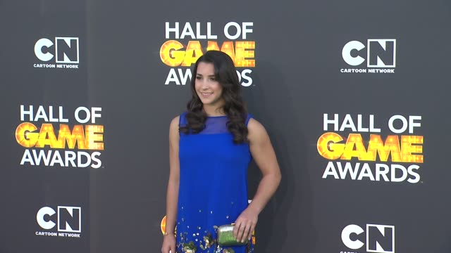 Aly Raisman at Cartoon Network Hosts Third Annual Hall Of Game Awards on 2/9/13 in Los Angeles CA