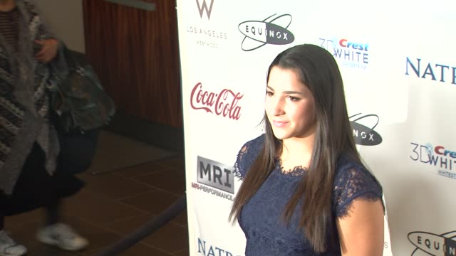 Aly Raisman at CW3PR Presents Gold Meets Golden At Equinox Sports Club Hosted By Nicole Kidman 1/12/2013 in Los Angeles CA