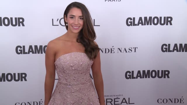 Aly Raisman at Glamour's 2017 Women Of The Year on November 13 2017 in New York City