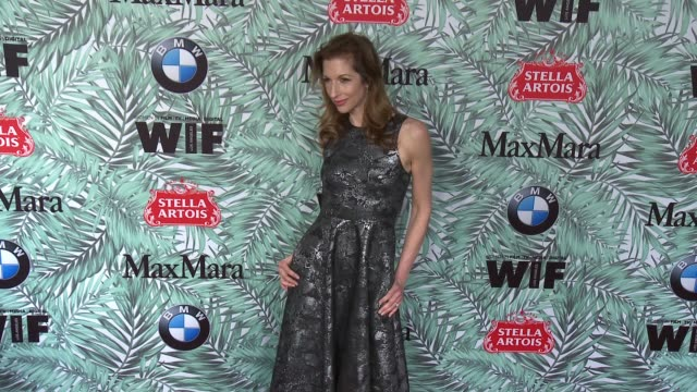 alysia reiner at 10th annual women in film pre-oscar cocktail party presented by max mara and bmw at nightingale plaza on february 24, 2017 in los... - nightingale stock videos & royalty-free footage