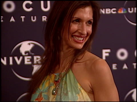 alysia reiner at the NBC/Universal Golden Globes Party on January 16 2005