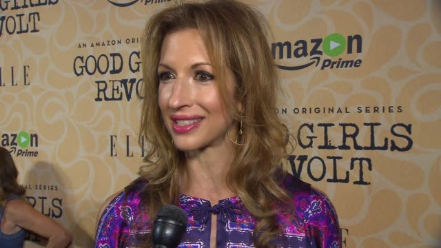 INTERVIEW – Alysia Reiner On looking at injustice toward women and how the themes in the series relates to today's society at Amazon's Screening of...