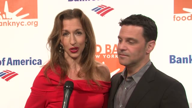 INTERVIEW Alysia Reiner talks about how they're celebrating a billions meals served at 2014 Food Bank Of New York City Can Do Awards at Cipriani Wall...