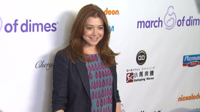 Alyson Hannigan arrives at 7th Annual March of Dimes Celebration of Babies on in Beverly Hills CA