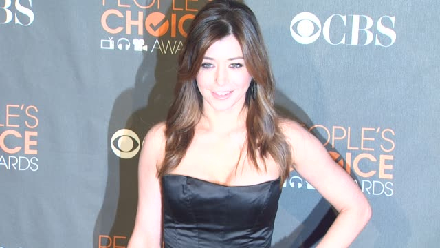 Alyson Hannigan at the 36th Annual People's Choice Awards at Los Angeles CA