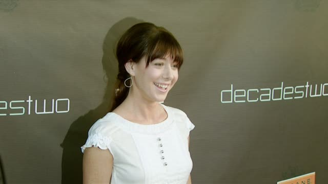 Alyson Hannigan at the Decadestwo Retailer Celebrates Opening of Expanded Space at decadestwo in Los Angeles California on July 18 2007