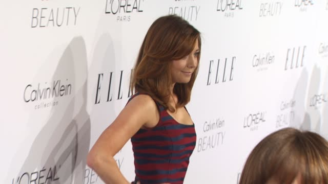 Alyson Hannigan at the ELLE Magazine's 17th Annual Women in Hollywood Celebration at Beverly Hills CA