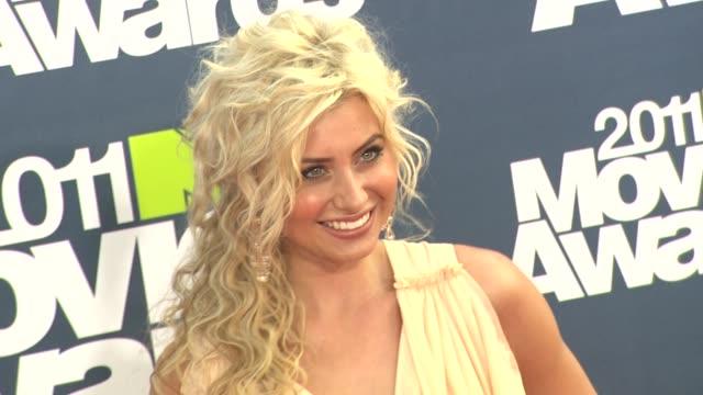 Alyson Michalka at the 2011 MTV Movie Awards at Los Angeles CA