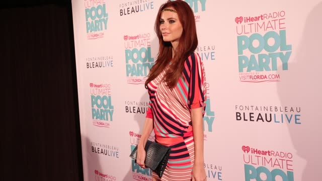 Alyssa Campanella at iHeartRadio Ultimate Pool Party Presented By VISIT FLORIDA At Fontainebleau's BleauLive 06/29/13 Alyssa Campanella at...
