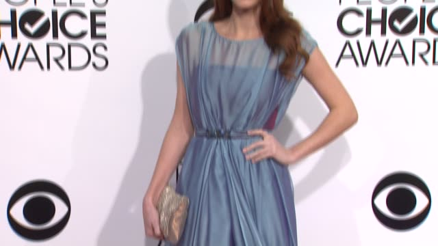 Alyssa Campanella at the 40th Annual People's Choice Awards Arrivals at Nokia Theatre LA Live on in Los Angeles California